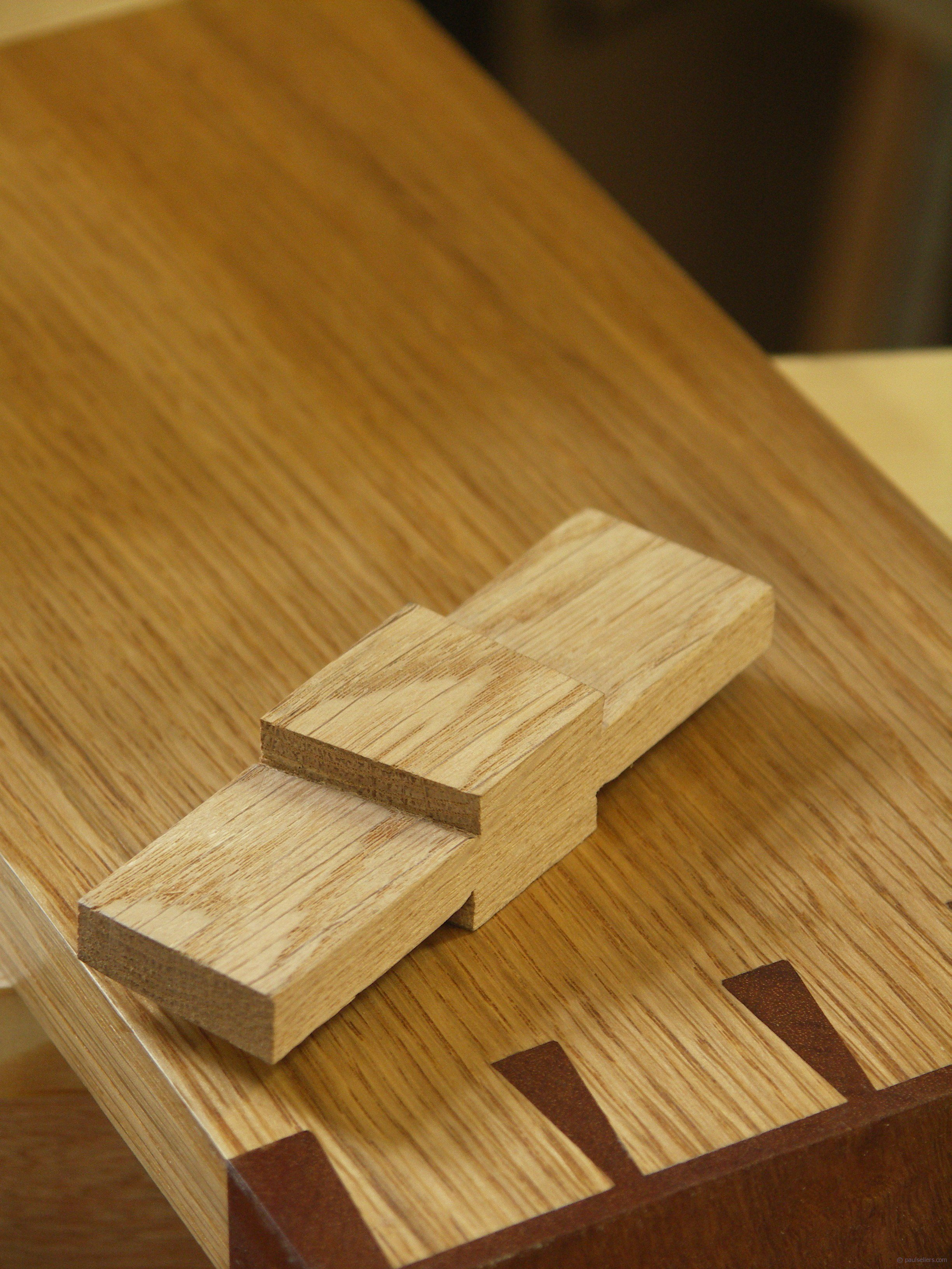 Dovetail joint template