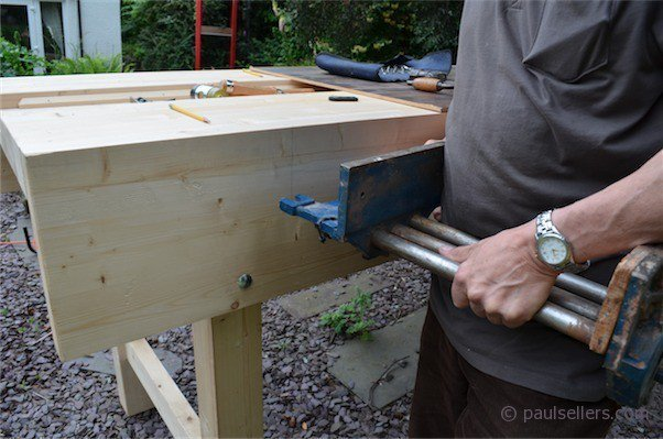How to Build a Workbench – Fitting the Vise (part14) - Paul Sellers ...