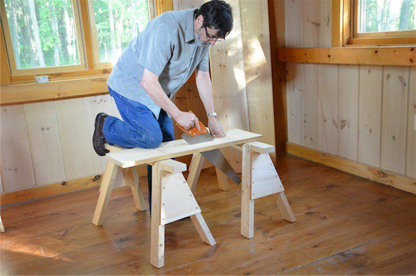 Saw Horses – Cutting List to Get wood - Paul Sellers' Blog