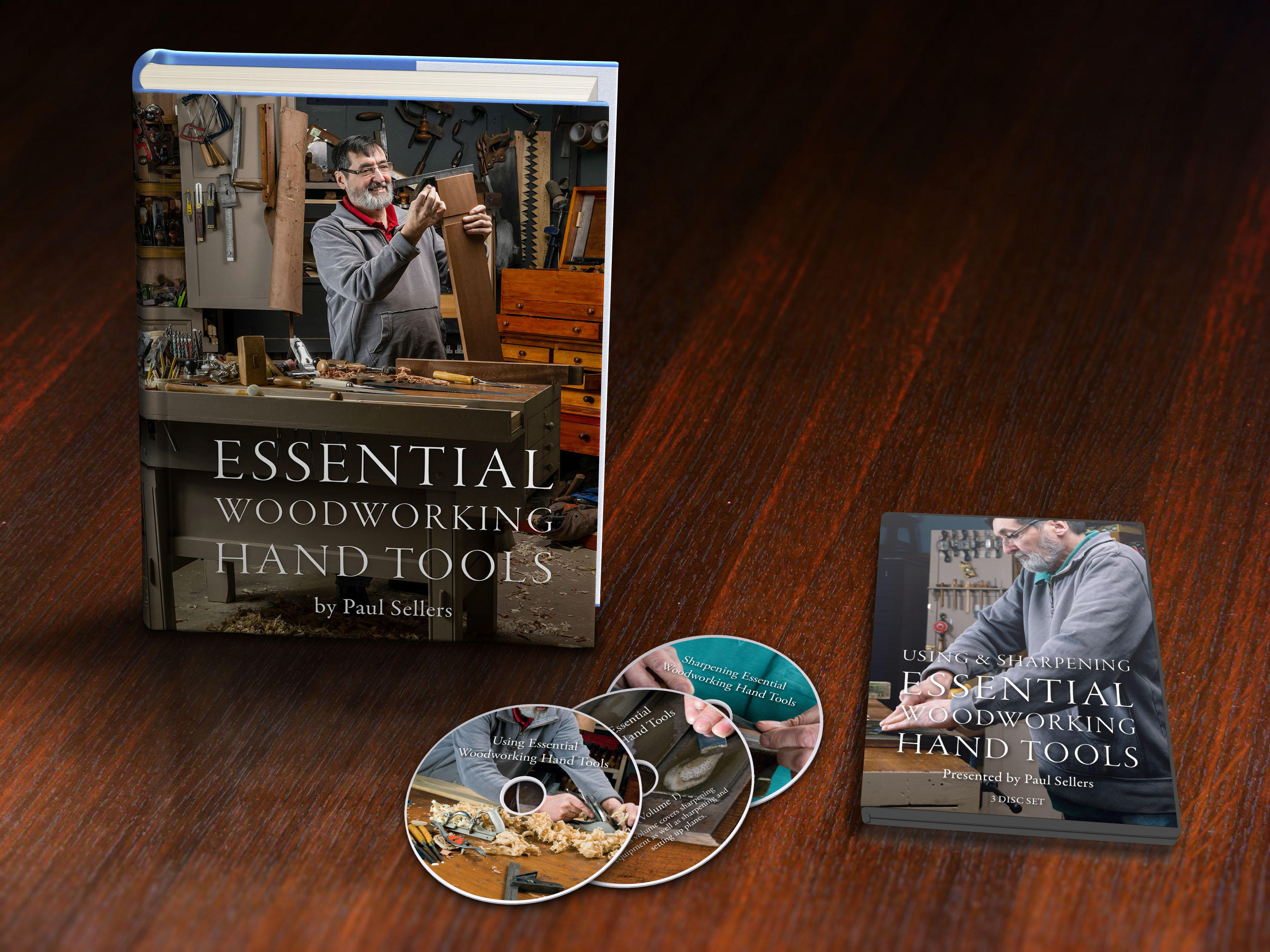 Book DVD Case and Discs