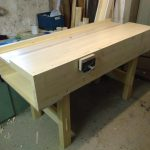 """Lukas Brütsch- I used """"Fichten-Holz"""" (i guess in english its """"spruce"""") for my workbench."""