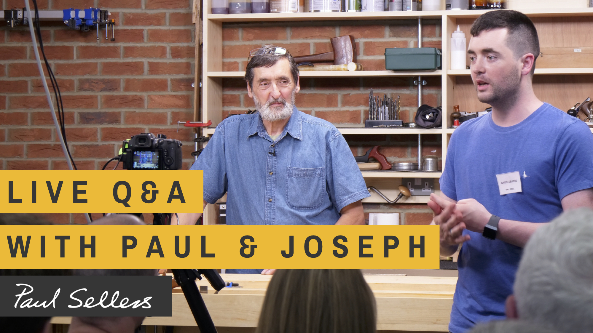YouTube Q&A with Joseph and I - Paul Sellers' Blog